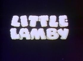 Screenshots from the 1937 Fleischer Studio cartoon Little Lamby