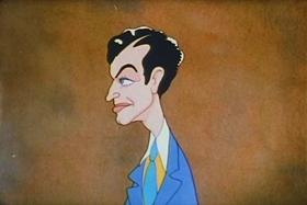 Screenshots from the 1938 Warner Brothers cartoon Jungle Jitters