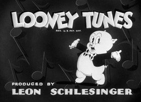 Screenshots from the 1938 Warner Bros. cartoon Porky the Fireman