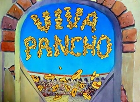 Screenshots from the 1938 Warner Brothers cartoon Little Pancho Vanilla
