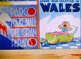 Screenshots from the 1938 Warner Bros. cartoon You