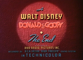 Screenshots from the 1938 Disney cartoon The Fox Hunt