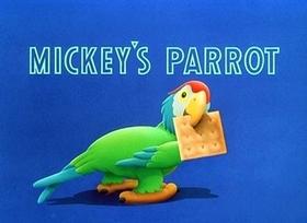 Screenshots from the 1938 Disney cartoon Mickey