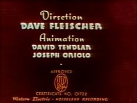 Screenshots from the 1938 Fleischer Studio cartoon The Tears of an Onion