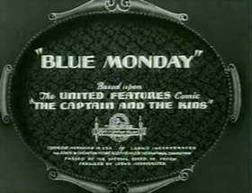 Screenshots from the 1938 MGM cartoon Blue Monday