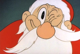 Screenshots from the 1938 MGM cartoon The Captain
