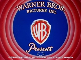 Screenshots from the 1939 Warner Brothers cartoon Prest-o Change-o