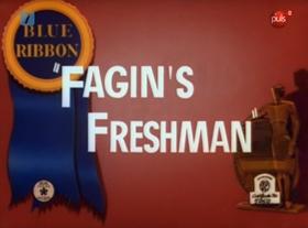 Screenshots from the 1939 Warner Brothers cartoon Fagin