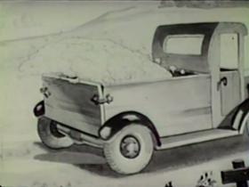 Screenshots from the 1939 Columbia cartoon Golf Chumps