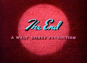 Screenshots from the 1939 Disney cartoon Donald