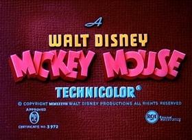 Screenshots from the 1939 Disney cartoon Society Dog Show