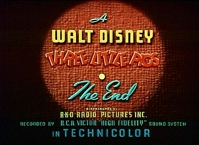 Screenshots from the 1939 Disney cartoon The Practical Pig