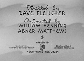 Screenshots from the 1939 Fleischer Studio cartoon Hello, How Am I