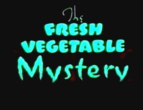 Screenshots from the 1939 Fleischer Studio cartoon The Fresh Vegetable Mystery