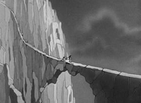Screenshots from the 1939 Fleischer Studio cartoon Never Sock a Baby