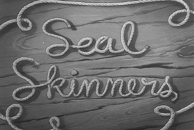 Screenshots from the 1939 MGM cartoon Seal Skinners