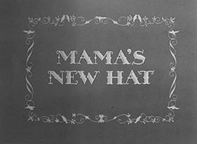 Screenshots from the 1939 MGM cartoon Mama