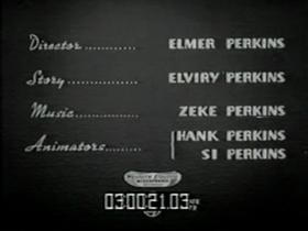Screenshots from the 1939 Walter Lantz cartoon Charlie Cuckoo