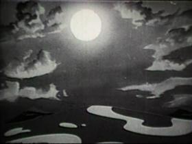 Screenshots from the 1939 Walter Lantz cartoon Bolo-Mola Land