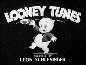 Screenshots from the 1940 Warner Brothers cartoon Slap-Happy Pappy