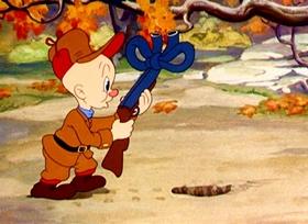 Screenshots from the 1940 Warner Bros. cartoon A Wild Hare