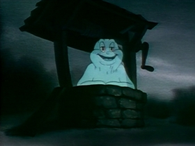 Screenshots from the 1940 Warner Brothers cartoon Ghost Wanted