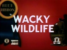 Screenshots from the 1940 Warner Brothers cartoon Wacky Wildlife