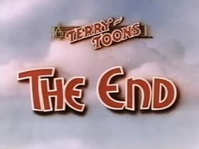 Screenshots from the 1940 Terrytoons cartoon Plane Goofy