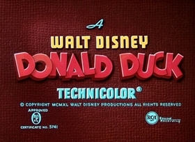 Screenshots from the 1940 Disney cartoon Put-Put Troubles