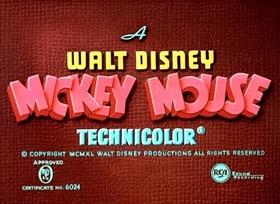 Screenshots from the 1940 Disney cartoon Pluto