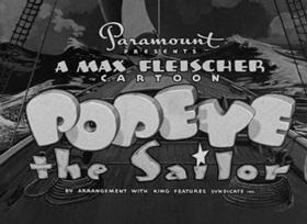 Screenshots from the 1940 Fleischer Studio cartoon Onion Pacific
