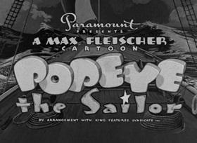 Screenshots from the 1940 Fleischer Studio cartoon Doing Impossikible Stunts