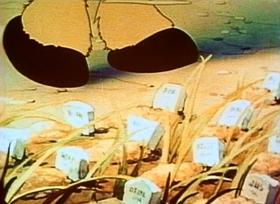 Screenshots from the 1940 Fleischer Studio cartoon You Can