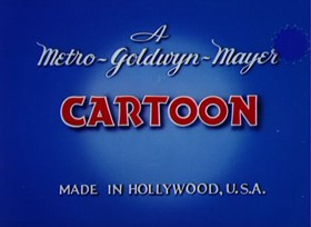 Screenshots from the 1940 MGM cartoon The Milky Way