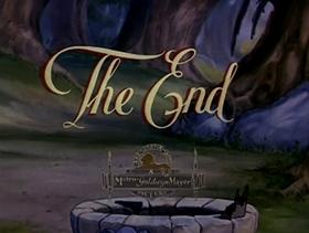 Screenshots from the 1940 MGM cartoon Papa Gets the Bird