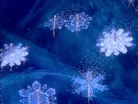 Screenshots from the 1940 Disney cartoon The Nutcracker Suite