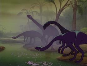 Screenshots from the 1940 Disney cartoon Rite of Spring