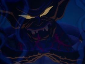 Screenshots from the 1940 Disney cartoon Night on Bald Mountain / Ave Maria