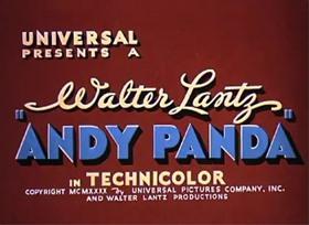 Screenshots from the 1940 Walter Lantz cartoon Crazy House