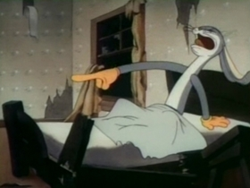 Screenshots from the 1941 Warner Bros. cartoon Elmer