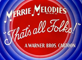 Screenshots from the 1941 Warner Brothers cartoon Hollywood Steps Out