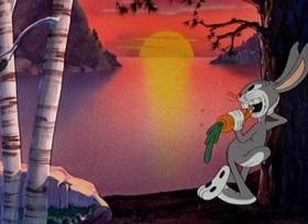 Screenshots from the 1941 Warner Brothers cartoon Hiawatha