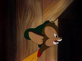 Screenshots from the 1941 Warner Brothers cartoon Brave Little Bat