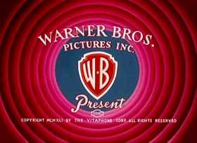 Screenshots from the 1941 Warner Brothers cartoon Rhapsody in Rivets