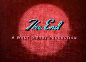 Screenshots from the 1941 Disney cartoon Early to Bed