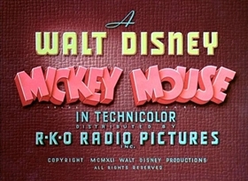 Screenshots from the 1941 Disney cartoon Orphans