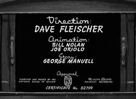 Screenshots from the 1941 Fleischer Studio cartoon Child Psykolojiky