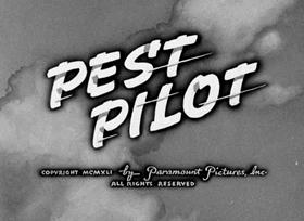 Screenshots from the 1941 Fleischer Studio cartoon Pest Pilot