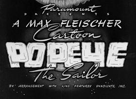 Screenshots from the 1941 Fleischer Studio cartoon Nix on Hypnotricks