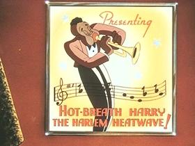 Screenshots from the 1941 Walter Lantz cartoon The Boogie Woogie Bugle Boy of Company B
